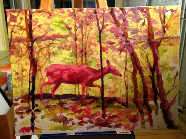 deer-painting-progress