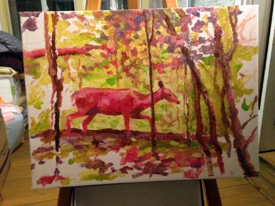 deer-painting-progress