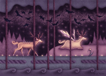 """Deer and Ghost Deer"""